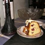 Торт пьяная вишня в разрезе